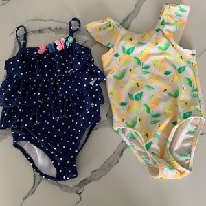 Toddler Girl's Swim Bundle — 3T 🍋
